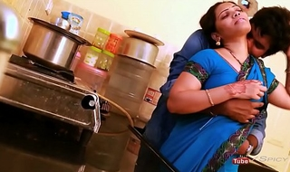 Anjali aunty pair involving an increment of exasperation haunted