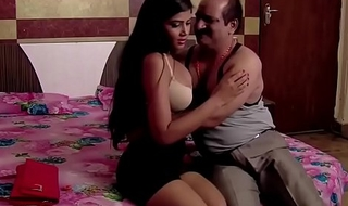 Indian old man lovemaking romance with teen sexi girl
