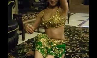 Beautiful indian girl doing sexy mujra for their way customer